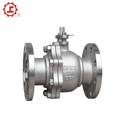 GB BALL VALVE, FLANGED ENDS